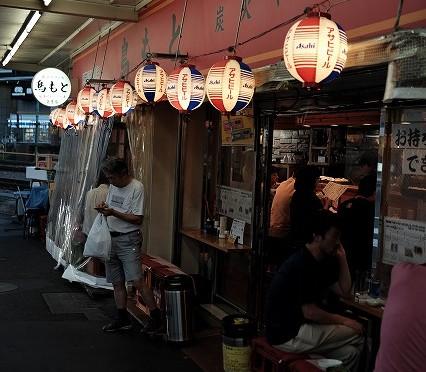富士フイルム X-T10で撮る荻窪・銀座通りの夕暮れと不思議なプール?