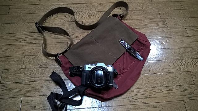 富士フイルム X-T10 のためのカメラバックを買う・・・BAGGY PORT KBS-673