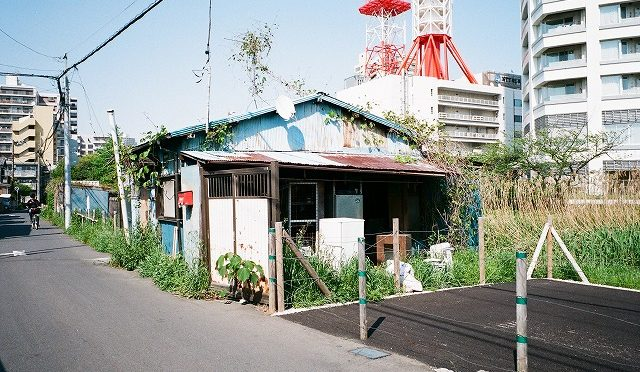 フイルムカメラ KLASSE Sで船橋・海神新地跡を歩く(2/2)