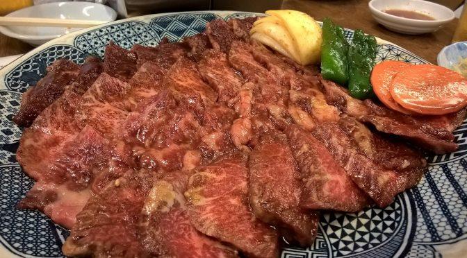 東上野のキムチ横丁・馬山館で肉を食らう