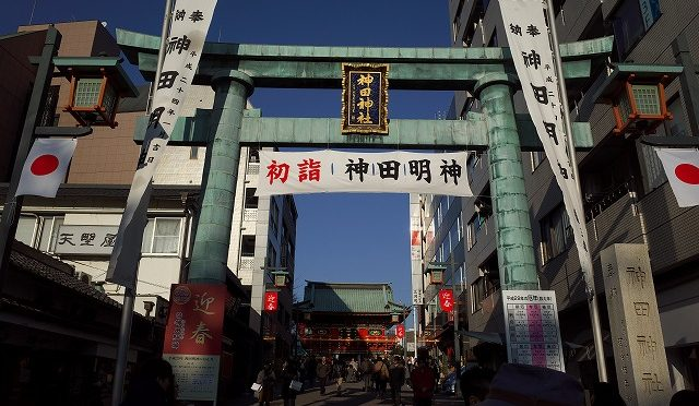 御朱印おやぢ・神田周辺の神社を歩く・・・神田明神と鳥越神社