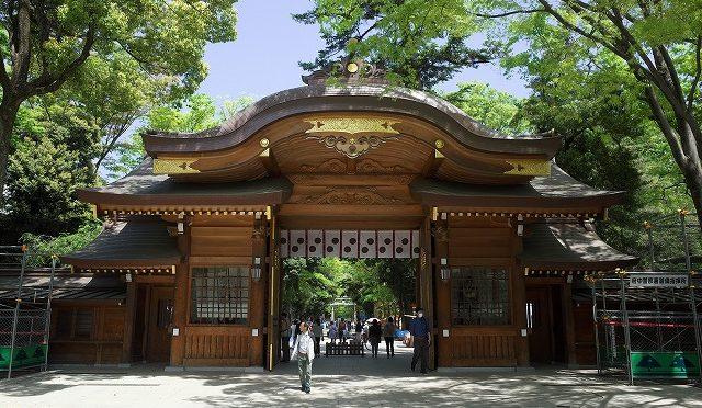 御朱印おやぢ・「くらやみ祭」前の大國魂神社と多摩の3社をまわってみた