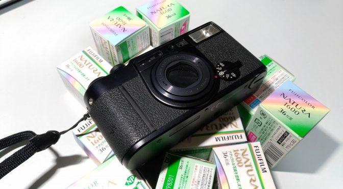 今さらフィルムを使おうと思ったら富士フイルム NATURA 1600 は間もなくディスコンだった件